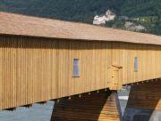 Rheinbrücke in Vaduz/Liechtenstein