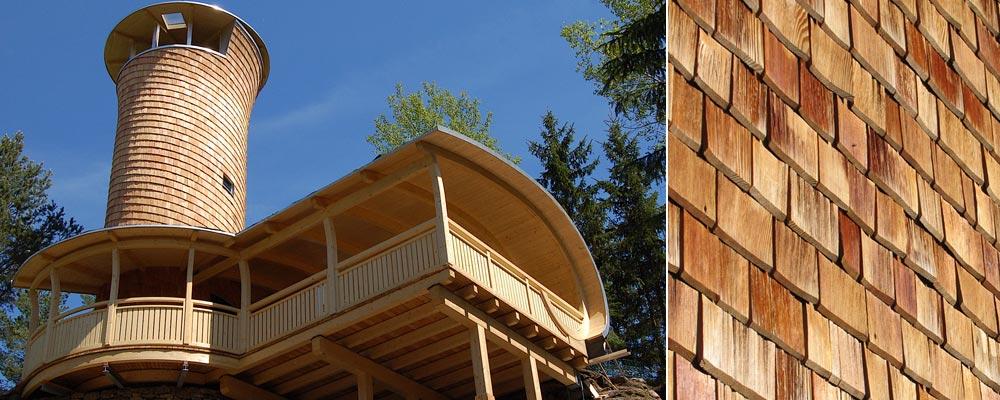 Holzschindeln Ratgeber Schindeldach Schindelwand Holzschindeln