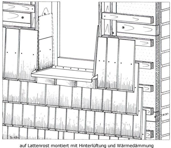 Fabulous Holzschindeln Ratgeber - Schindeldach, Schindelwand, Holzschindeln IT61